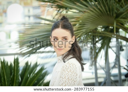 Rooney Mara attends the 'Carol' Photocall during the 68th annual Cannes Film Festival on May 17, 2015 in Cannes, France. - stock photo