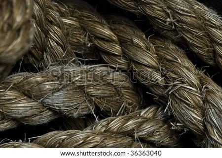rope - stock photo