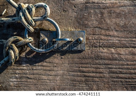 Rope and Chain in Dock