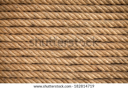 Rope background - texture.  - stock photo