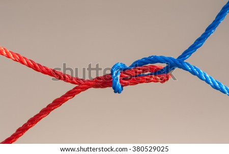 Rope nets, joints