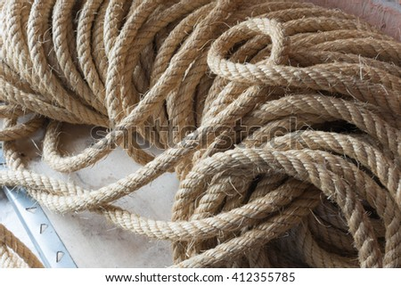 Rope on the box