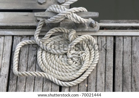 rope,spiral - stock photo