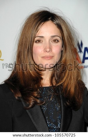 Rose Byrne at the US-Ireland Alliance Pre Academy Awards Gala. Ebell Club, Los Angeles, CA. 02-19-09 - stock photo