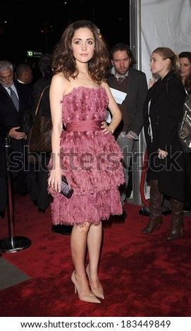 Rose Byrne, wearing a Christian Cota dress, at KNOWING Premiere, AMC Loews Lincoln Square Theatre, New York, NY March 09, 2009