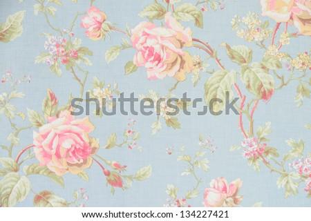 Rose fabric background - stock photo