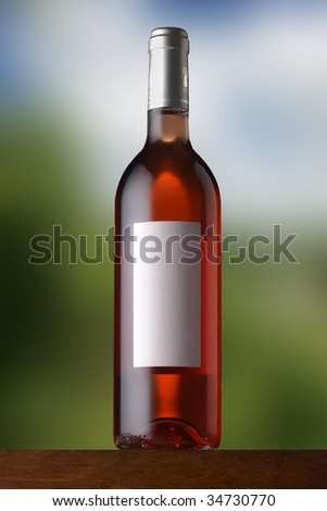 Rose on soft background - stock photo