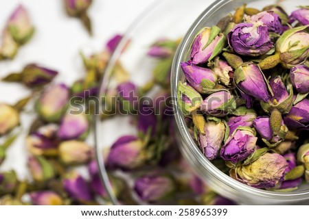 Rose Tea - stock photo