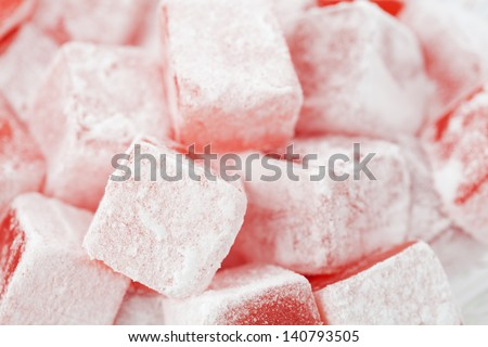 Turkish delight stock images royalty free images for Divan rose turkish delight