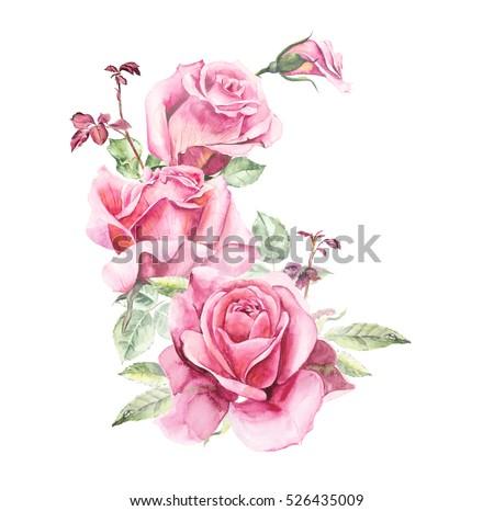 Red Rose Wedding Invitation as best invitations sample