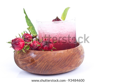 roselle juice with dried Roselle flower