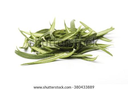 Rosemary isolated on white background - stock photo