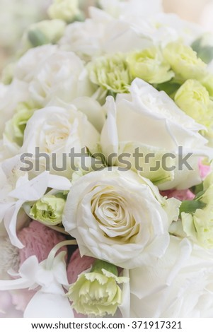 Roses and colorful flowers