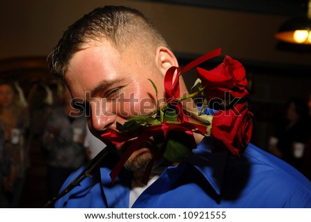 roses for you - stock photo