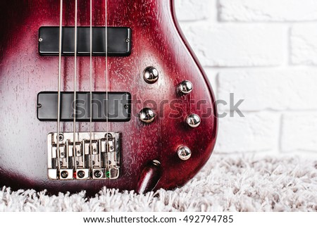 bass guitar stock photos royalty free images vectors shutterstock. Black Bedroom Furniture Sets. Home Design Ideas