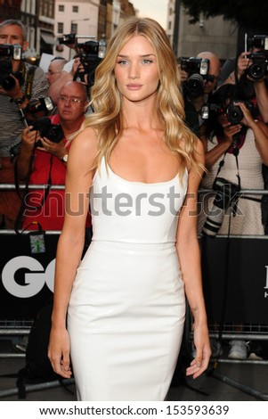 Rosie Huntington Whiteley arriving for the 2013 GQ Men Of The Year Awards, at the Royal Opera House, London. 03/09/2013