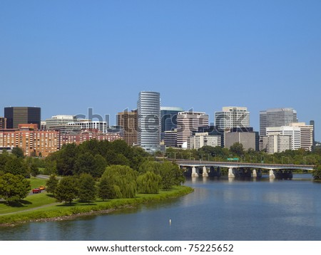 Rosslyn District in Washington DC