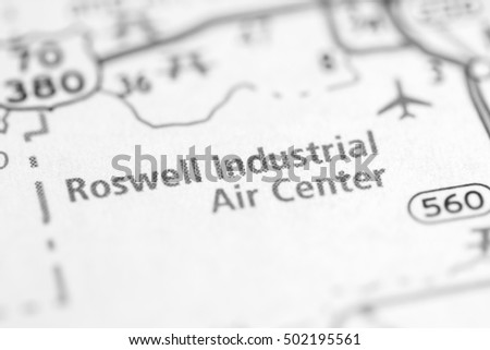 Roswell Industrial Air Center. New Mexico. USA.