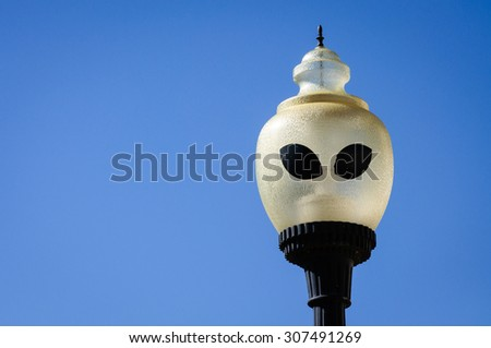 Roswell, New Mexico - stock photo
