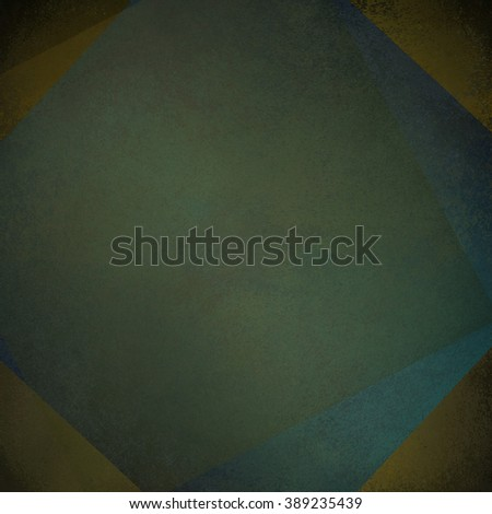 rotating grunge squares blue brown gold - stock photo