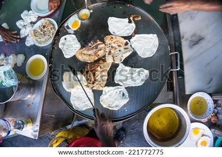 Roti Canai (prata) - stock photo