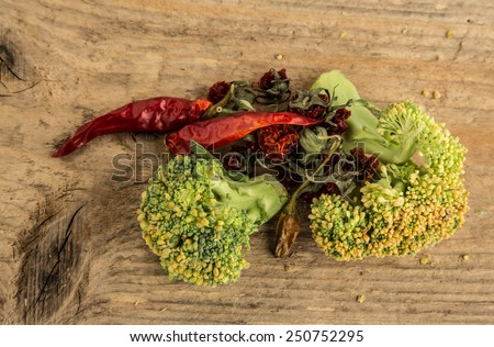 rotten vegetables - stock photo