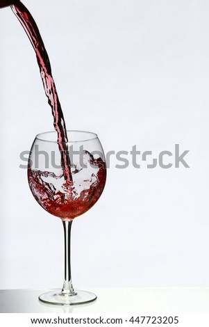 Rotwein - stock photo