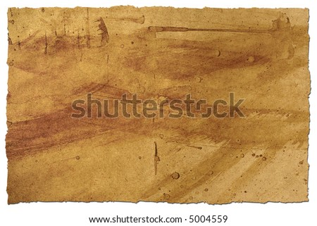 Rough and grungy looking paper background.