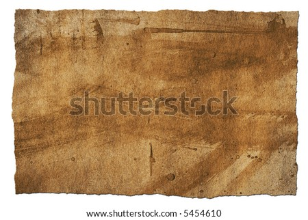 Rough and grungy looking paper background