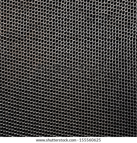 Rough black Fabric Texture - stock photo