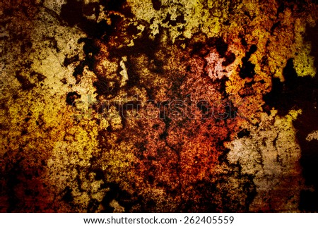 Rough color concrete wall as background texture - stock photo