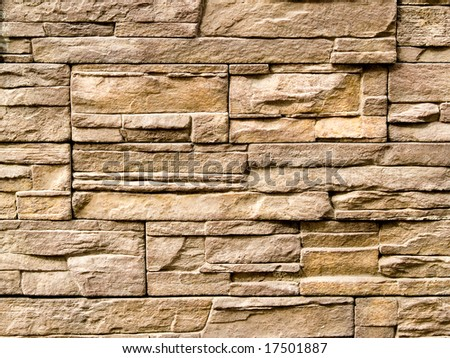 Decorative Stone Wall rough decorative stone wall background stock photo 17501887