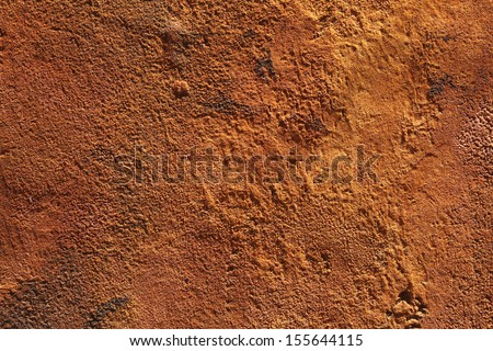 rough ginger wall texture - stock photo