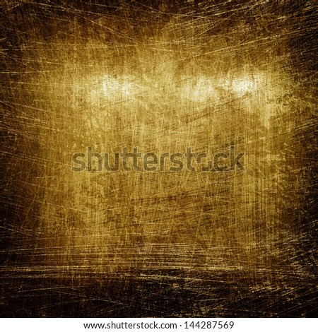 rough golden background - stock photo