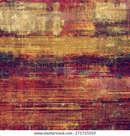 Rough grunge texture. With different color patterns: yellow (beige); brown; purple (violet); red (orange) - stock photo