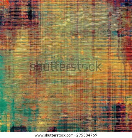 Rough grunge texture. With different color patterns: yellow (beige); red (orange); blue; purple (violet) - stock photo