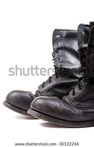 Rough leather footwear for work and productive leisure. Protection of feet in difficult conditions.