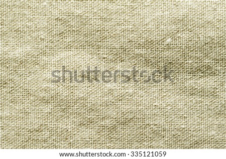 rough linen fabric material rumpled