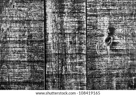 Rough old barn board wooded texture - stock photo