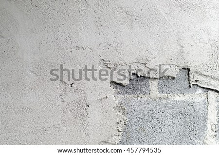 rough plaster