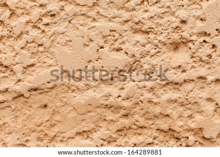 Rough plaster wall texture background