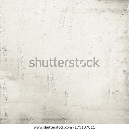 Rough plaster wall texture, blank wall background - stock photo