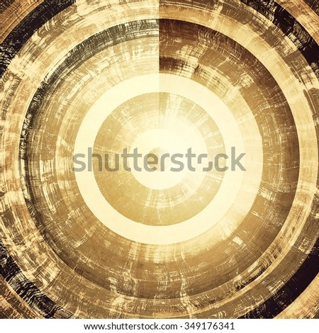 Rough vintage texture. With different color patterns: yellow (beige); brown; black; gray - stock photo