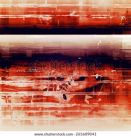 Rough vintage texture. With different color patterns: yellow (beige); brown; red (orange); black - stock photo