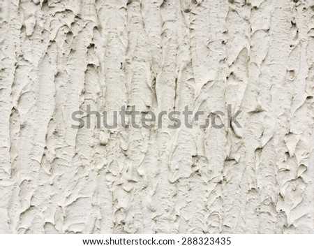 Rough wall plaster texture - stock photo