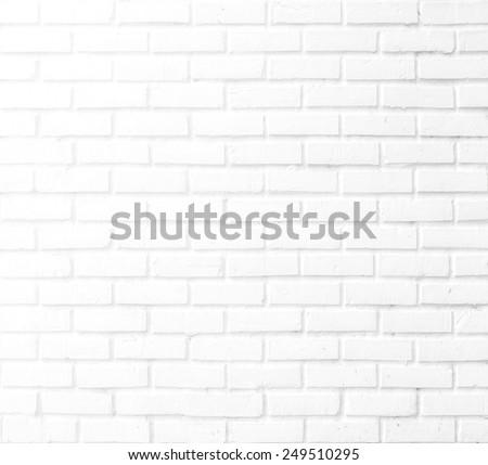 Roughly brick wall. Grunge background. - stock photo