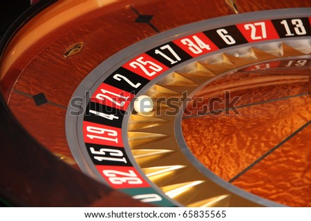roulette - stock photo