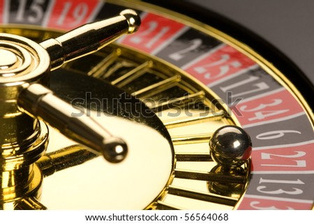Roulette close up - stock photo
