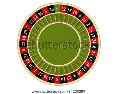 roulette numbers - stock photo