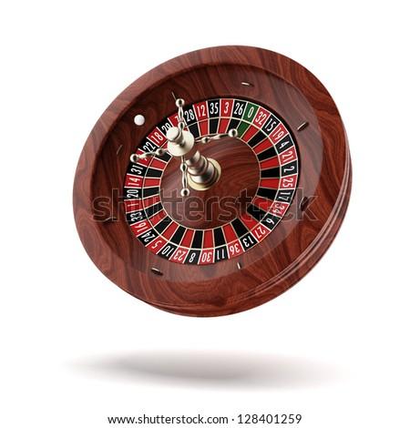 Roulette wheel. - stock photo